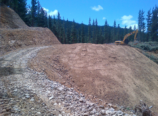 Forestry and Skid Sites